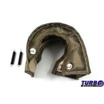 Kipufogó Turbo hővédő T25 titanium type 2